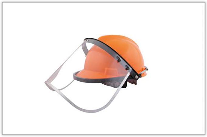 小金刚配帽型防护面罩
